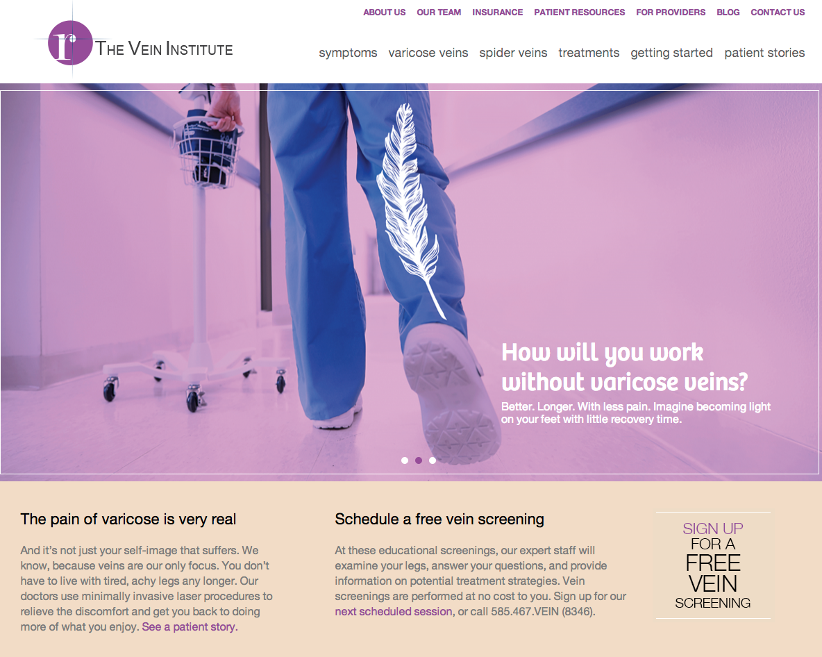The Vein Institute Rebrand
