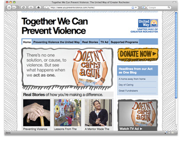 United Way of Greater Rochester Integrated Campaign